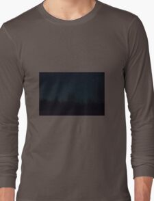 Stars over a back yard in Wilton Maine! Long Sleeve T-Shirt