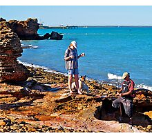 Preparing to fish, Darwin, Australia. Photographic Print