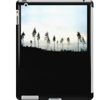 The lonesome trees  iPad Case/Skin