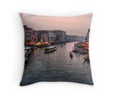 Canal Grande Throw Pillow