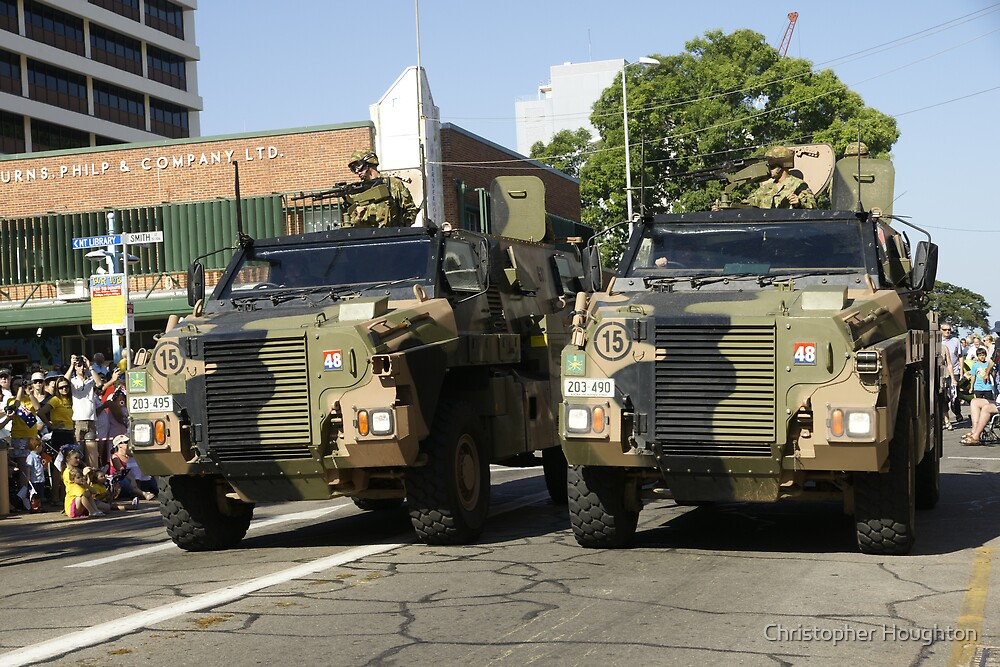 Bushmaster Infantry Mobility Vehicle, Australia by Christopher Houghton