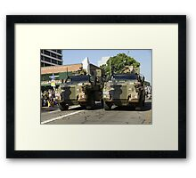 Bushmaster Infantry Mobility Vehicle, Australia Framed Print