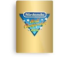 Nintendo World Championships 2015 Logo Metal Print
