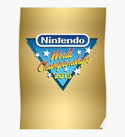 Nintendo World Championships 2015 Logo Poster