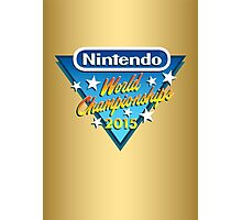 Nintendo World Championships 2015 Logo Photographic Print