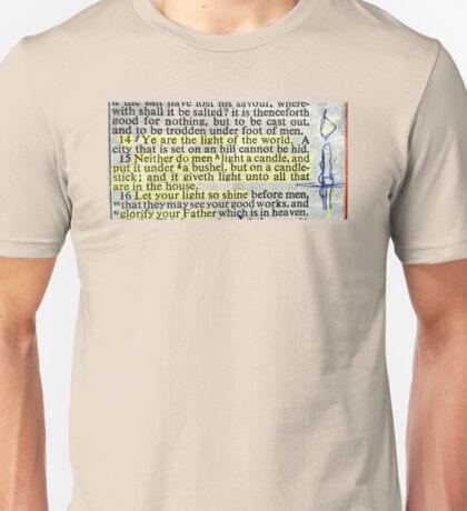 YE ARE THE LIGHT OF THE WORLD Unisex T-Shirt