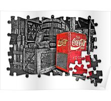 Coca Cola - Jigsaw Poster