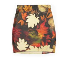 Autumn in Water II Mini Skirt