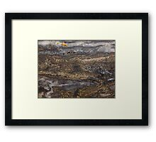 The Hidden Land - Looking Up On Nightmare Nebula Framed Print