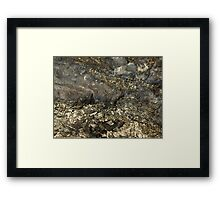 The Hidden Land - The Silver Valley Framed Print