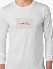 Heart Cycle Long Sleeve T-Shirt