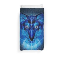 Ice Wolf Duvet Cover
