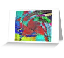 Coloured signs Greeting Card