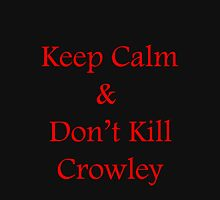Don't Kill Crowley Womens Fitted T-Shirt