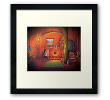 Bag End In a hole in the ground Framed Print