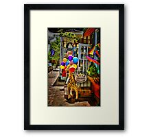 Toys For Sale Framed Print