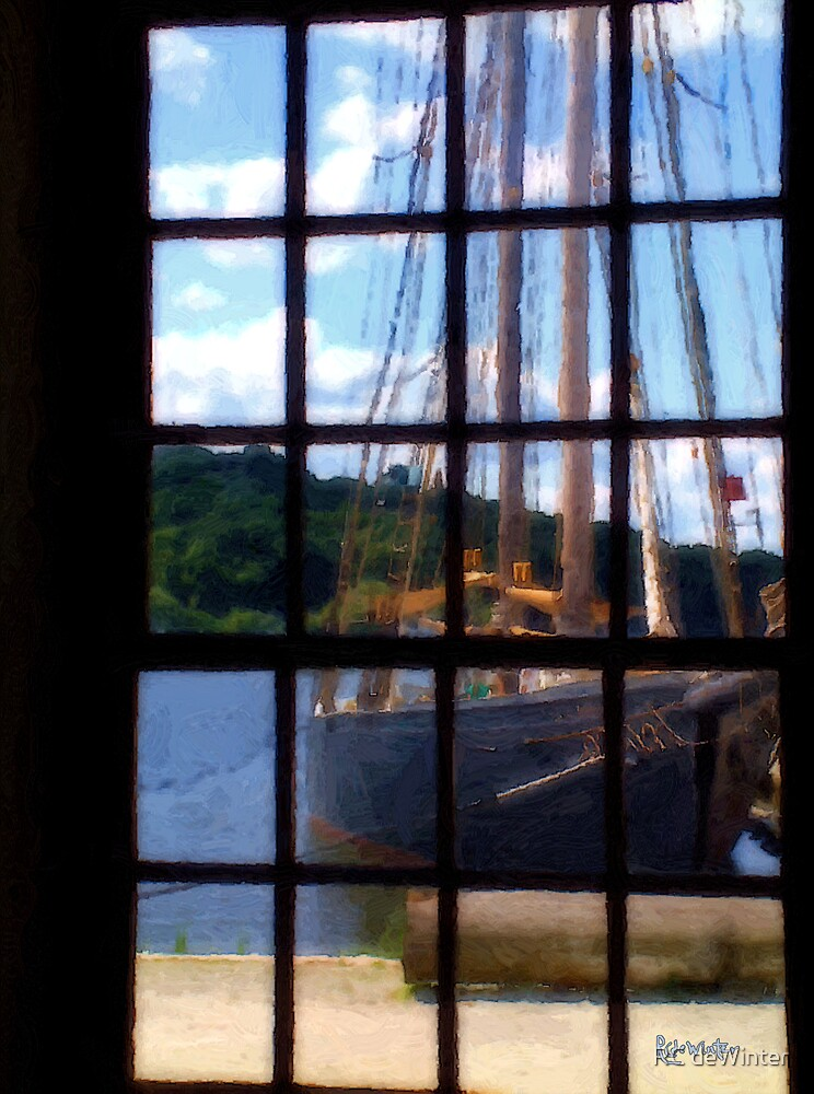 Through the Glass of the Past by RC deWinter