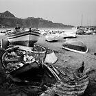 Boat Graveyard by Andrew Vinciullo