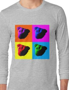 Pit Bulls Long Sleeve T-Shirt