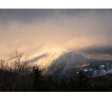 White Mountain Morning Photographic Print