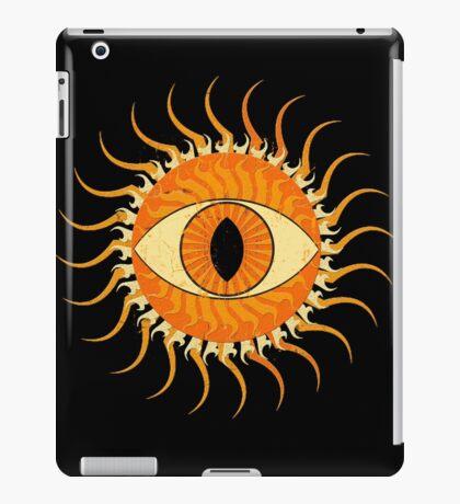 All-seeing sun #2 iPad Case/Skin