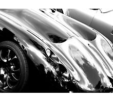 TVR bonnet Photographic Print