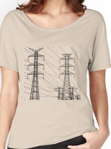Straight Lines Women's Relaxed Fit T-Shirt