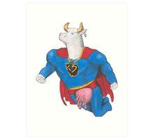 Bovine Man Art Print