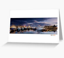 Fremantle Fishing Boat Harbour Greeting Card