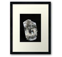 Ice Cube Calcite Framed Print