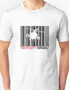 Boycott Israel_punch_out (heli version) T-Shirt