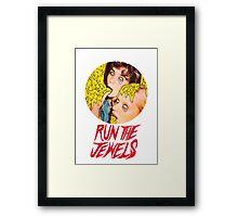 run the Framed Print