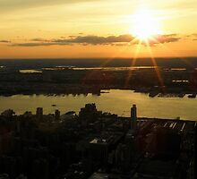 The Sun Sets On The Big Apple ~ Part Two by artisandelimage