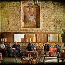 Italian conversation at the café by Silvia Ganora