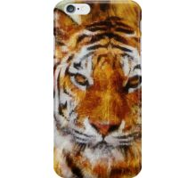 Painted Tigers iPhone Case/Skin