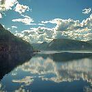 Everywhere clouds by Arie Koene
