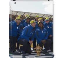 Rugby World Cup 2015  The pack iPad Case/Skin