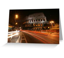 Rome, The Coliseum Greeting Card