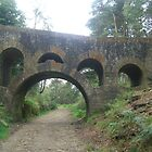 Seven Arch Bridge at Rivington by Julie Lunan
