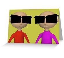 sunglasses Greeting Card