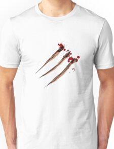 Claw Marks. Wolverine maybe? Unisex T-Shirt