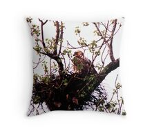 032707-24   STANDING GUARD Throw Pillow