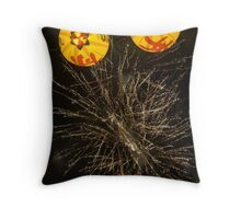 lantern pop Throw Pillow