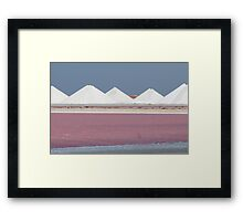 Salt Bonaire Framed Print