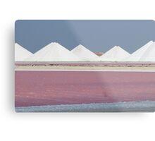 Salt Bonaire Metal Print