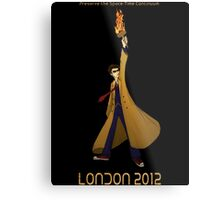 Preserve the Space-Time Continuum: The Doctor in London 2012 Metal Print