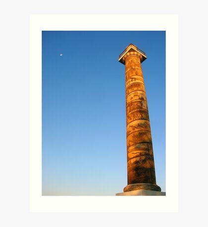 Astoria Column Art Print