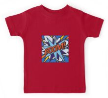 Comic Book BOOM! Kids Tee
