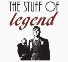 """The stuff of legend."" - 10th Doctor by wessaandjessa"