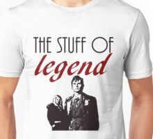 """""""The stuff of legend."""" - 10th Doctor Unisex T-Shirt"""